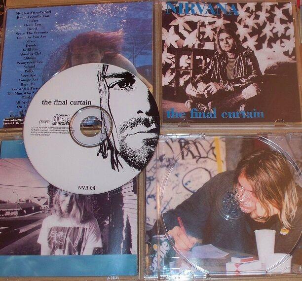 Nirvana Kurt Cobain The Final Curtain rare last show original live cd mint new