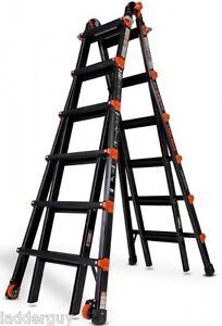 26 1a Little Giant Ladder Pro Series W 4 Acc Black New Ebay