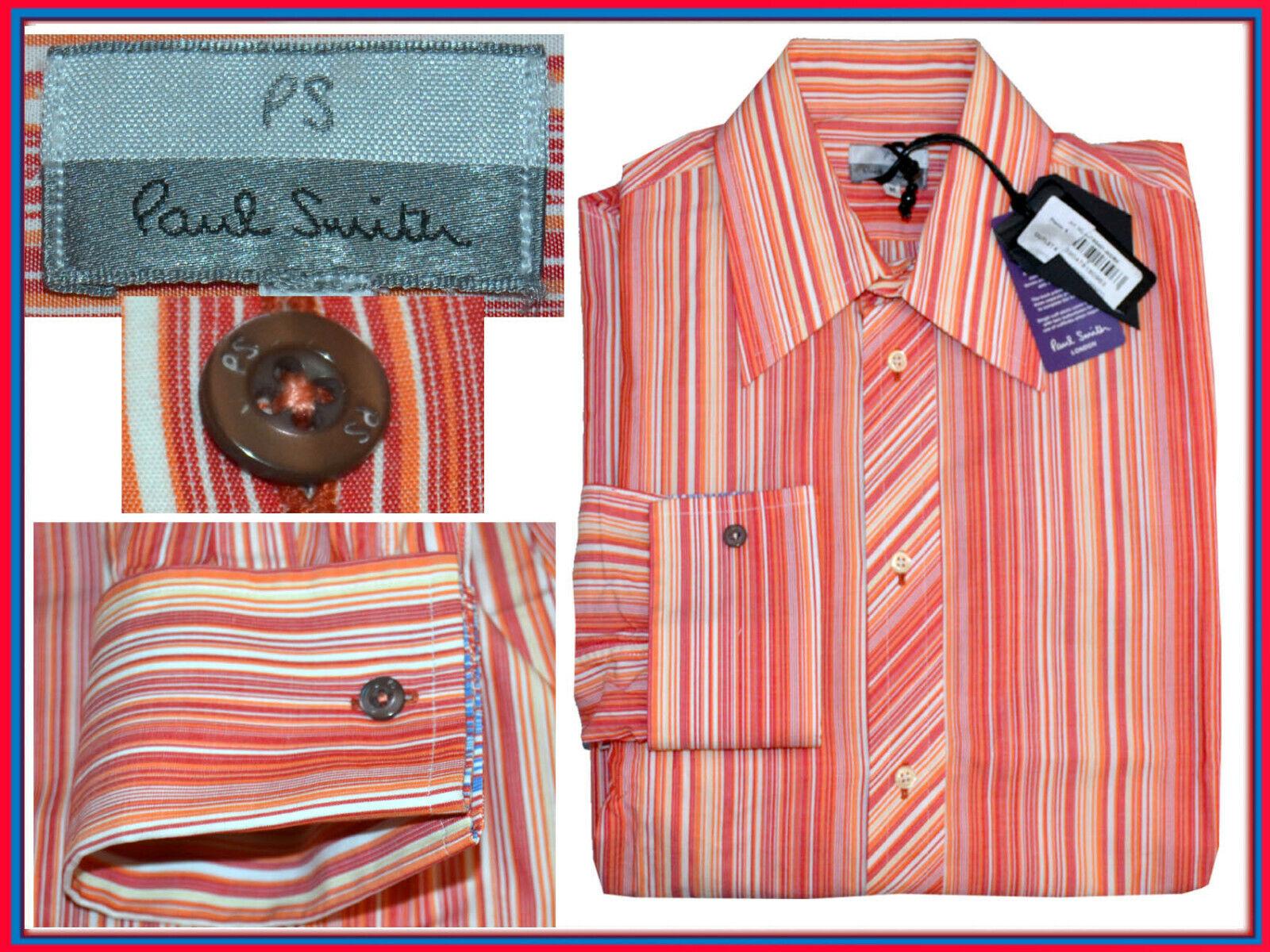 PAUL SMITH LONDON Camicie Per Uomo M Europa Fino - 80 %  PS21 N1G