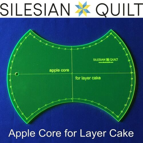 Apple Core Template for cutting and patchwork