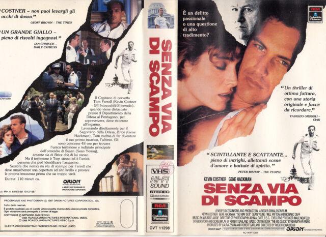 Senza via di scampo (1987) VHS