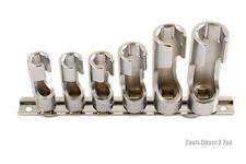 """Láser 4984 difícil acceso Socket Set de 3/8 """"de 6 piezas Llaves Para Tubos"""