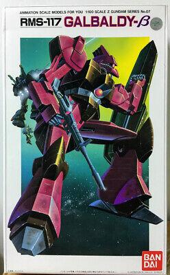 Bandai Z Gundam UC0087-1//100 EFSF RMS-117 Galbaldy β Mobile Suit model kit