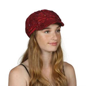 TopHeadwear-Glitter-Sequin-Trim-Newsboy-Hat
