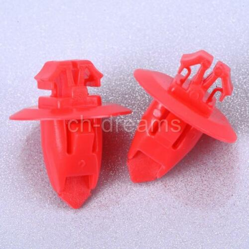 Set of 50 Pcs Mudguard Fender Flare Moulding Retainer Clips For Toyota