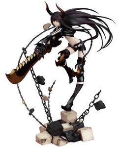 Black-Rock-Shooter-Nero-Oro-Sega-Animazione-Versione-1-8-PVC-Buono-Sorriso