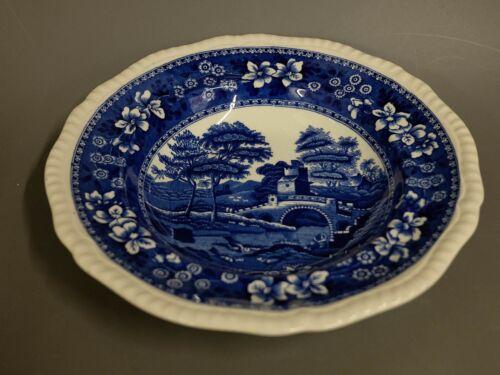 Suppenteller Teller Copeland Spode´s Tower England blau 23,5 cm #3