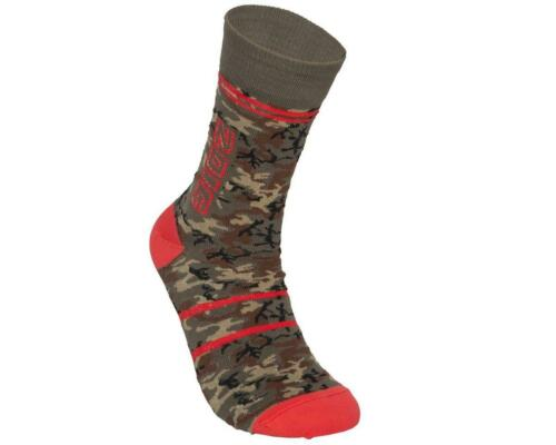 5160ZM15-GREENCAMO-P ZOIC Clothing Camo Sock GreenCamo