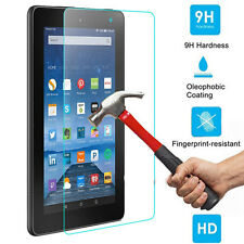 9h Premium Tempered Glass Screen Protector for Amazon Kindle Fire HD 7 2015