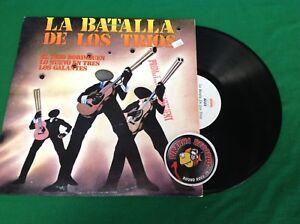 La-Batalla-De-Los-Trios-Various-Artists-Spanish-Vinyl-LP-TTH1881-Piranha-Records