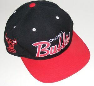 da94b798d45eb Details about Mitchell & Ness Chicago Bulls NBA Basketball Hardwood  Classics Snapback Hat Cap