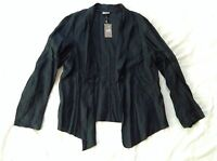 J. Jill Size Large Blazer Jacket Coat, Black Color Casual Sxs