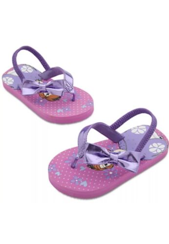 New Disney Store Sofia The First Sandals Shoes Girls Flip Flop Size 5//6