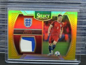 2016-17 Select Gary Cahill Gold Prizm Patch Relic Card #07/10 Q8