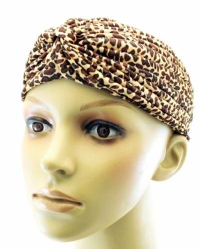 Donna Turbante Ragazze Afro stile indiano Turbante Testa Wrap Bandana Chemio Cap parrucca