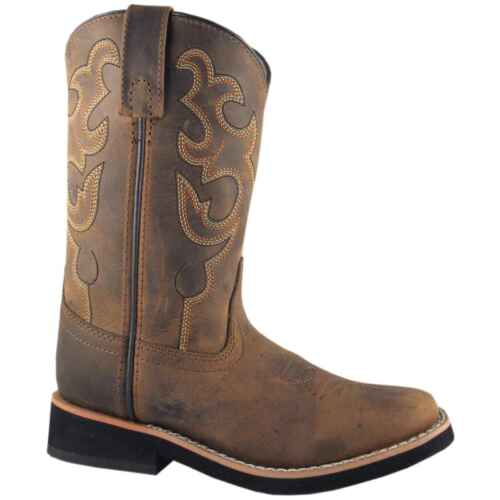 Smoky Mountain 3520 CHILD//YOUTH Pueblo Dark Crazy Horse Cowboy Boots