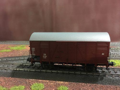 OVP Güterwagen DR aus Trix 21532 Spur H0 1 St 2achs ged
