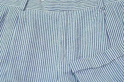 Clothing, Shoes & Accessories Considerate Jos A Riva Uomo Blu Cotone Strisce Alterne Stay Cool Vestito Pieghettato