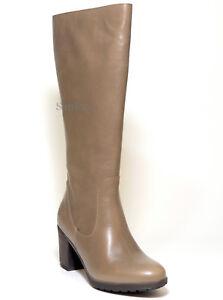 Boots Footwear 41 Vario Lederfutter Neu Jj Leder Stiefel Braun Taupe Schaft Echt 6wdwEzBq