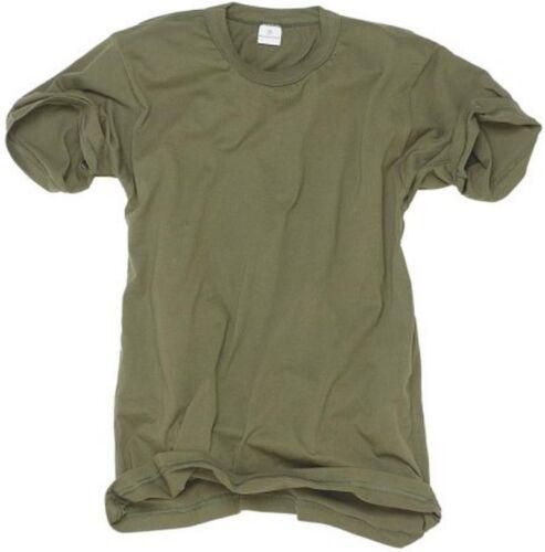 Classic Army Style T-Shirt Kurzarm Shirt oliv S-3XL Jagdshirt Armyshirt