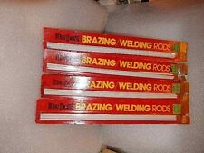 4four Pack Of Bernzomatic Brazing Welding Rods Sealed Unused Old New Stock