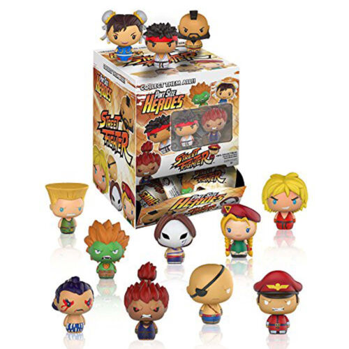 Funko Street Fighter Pint Size Heroes Blind Bag Mini Figure 4 Blind Bags NEW Toy