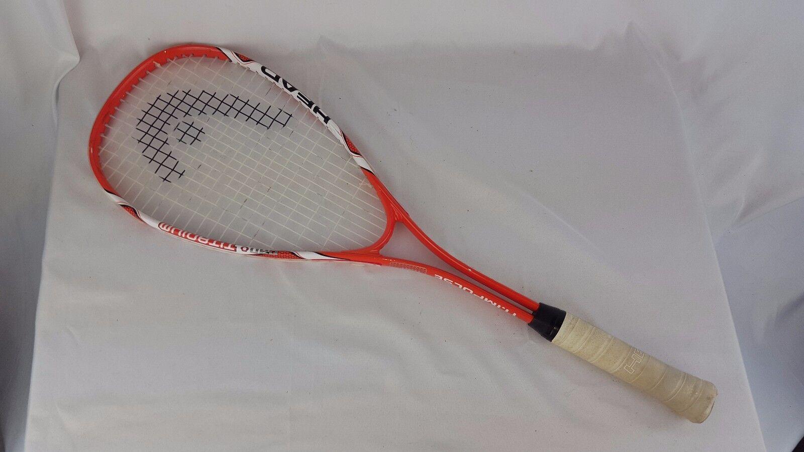 Head Nano Titanium T.I Impulse Squash Racquet 4