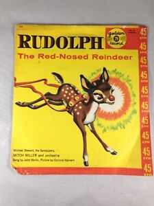 Rudolph the red nosed reindeer read along book and cd