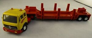 VINTAGE-con-MATCHBOX-SUPERKINGS-1980-CAB-e-rimorchio-K135-K129-1980s