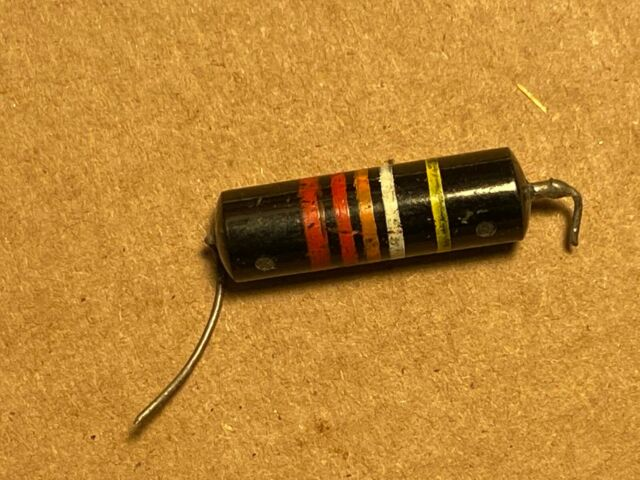 LUXE 1956-60 Matched Pair of Oil-Filled .022mF Bumble Bee Capacitors