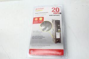 Square D Homeline HOM120PCAFIC Plug On Neutral CAFI 20Amp Lot of 3