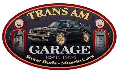 1976 Pontiac Trans Am SE Firebird Classic Garage Sign Wall Art Graphic Sticker