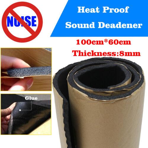 100 X 60cm 8mm Estera Aislante Coche Calor Aislamiento Acústico Insonorización