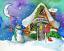 Candy-Cane-Snowman-Candy-Shop-Snowman-Christmas-Holiday-Wall-Art miniature 3