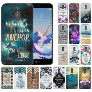 Details about Bible Verses Design Hard Back Case Cover For LG Stylo 3 Plus/  Stylus 3 LS777