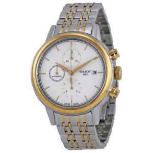 Tissot-Carson-Automatic-Chronograph-Men-039-s-Watch-T0854272201100