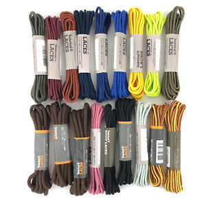 d721aa5e4180 Image is loading Timberland-Shoelaces-Round-Replacement-Boot-Laces