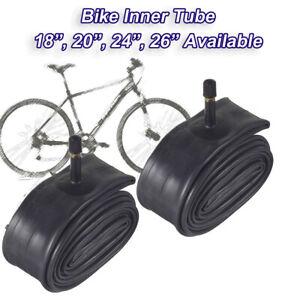"20/"" Bike Inner Tube 1.6-1.95 Bicycle Rubber Tire Interior BMX Schrader Valve"