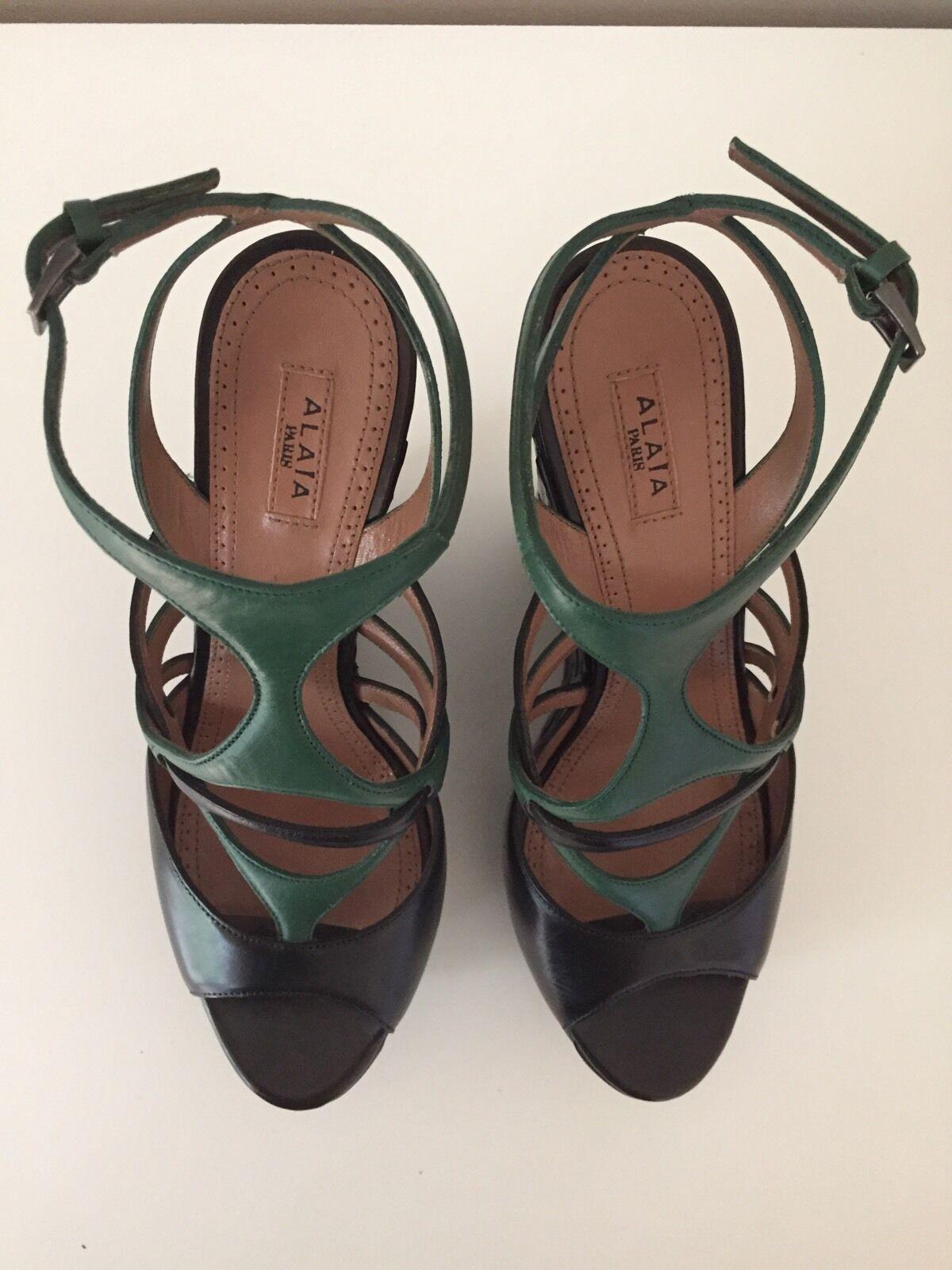 ALAÏA Schuhe, LUXUS NEU PUR, NEU NEU LUXUS NEU, 100% Original, Gr. 38 c6337c