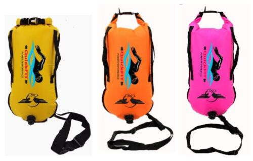 QuikFIT SWIM Safer Swimmer Dry Bag and Buoy Open Water Swimming and Triathlon