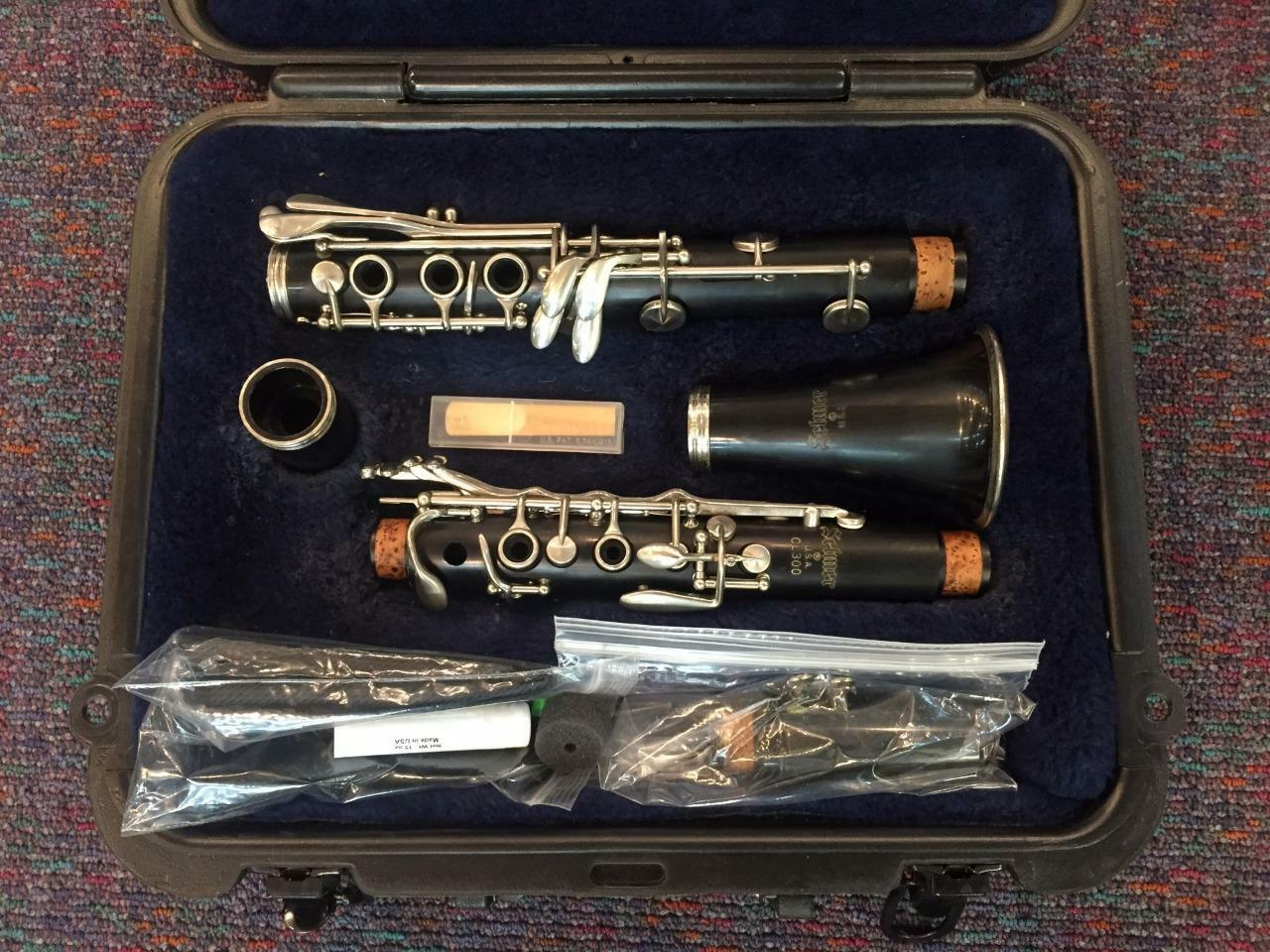 Selmer CL300-Student Clarinet-Made in USA-Just Repadded-Perfect Condition