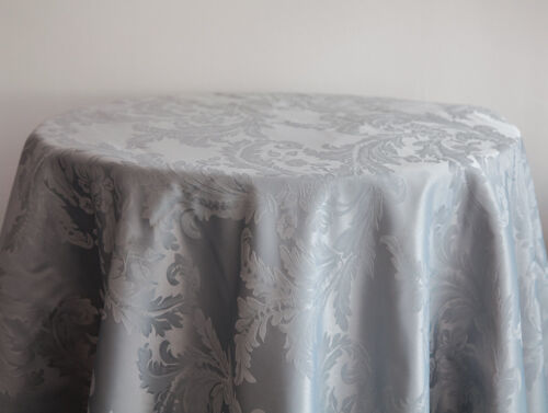DAMASK TABLECLOTHS AND NAPKINS 10 COLORS 3 SIZES WEDDING TABLECLOTH EVENTS