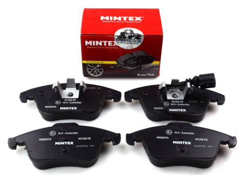 REAL IMAGE OF PART MINTEX FRONT AXLE BRAKE PADS FOR AUDI SEAT VW MDB2973