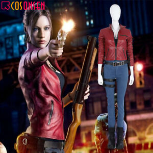 Resident Evil 2 Claire Redfield Remake Cosplay Costume All Sizes