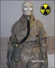 GAS MASK  NBC HAZMAT SUIT RADIATION SARIN  CHEMICAL SURPLUS CHERNOBYL FALLOUT