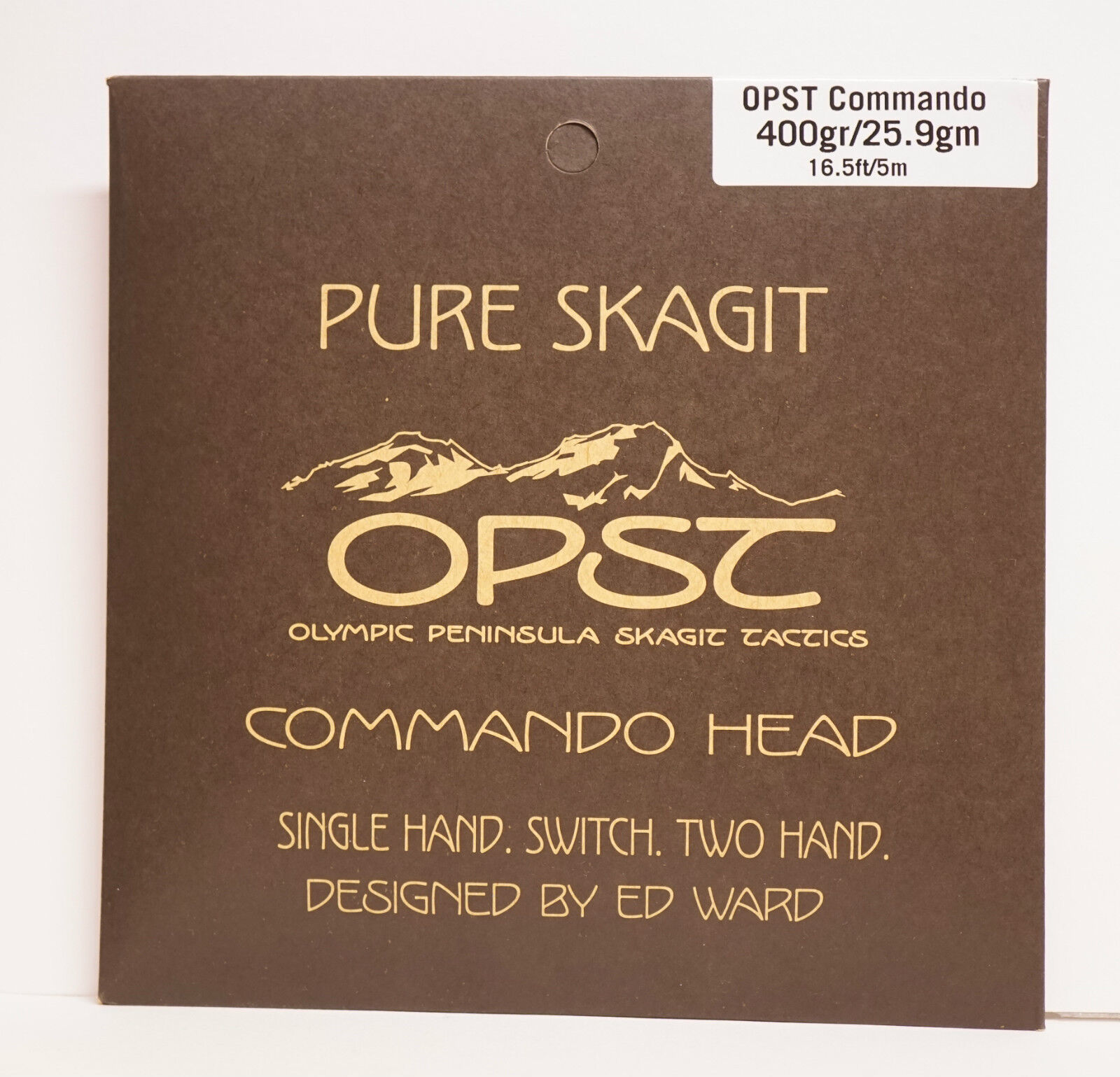 OPST Commando Head 400gr 25,9 Gr. 16ft 5 Mtr. Single Hand. Switch. Two Hand