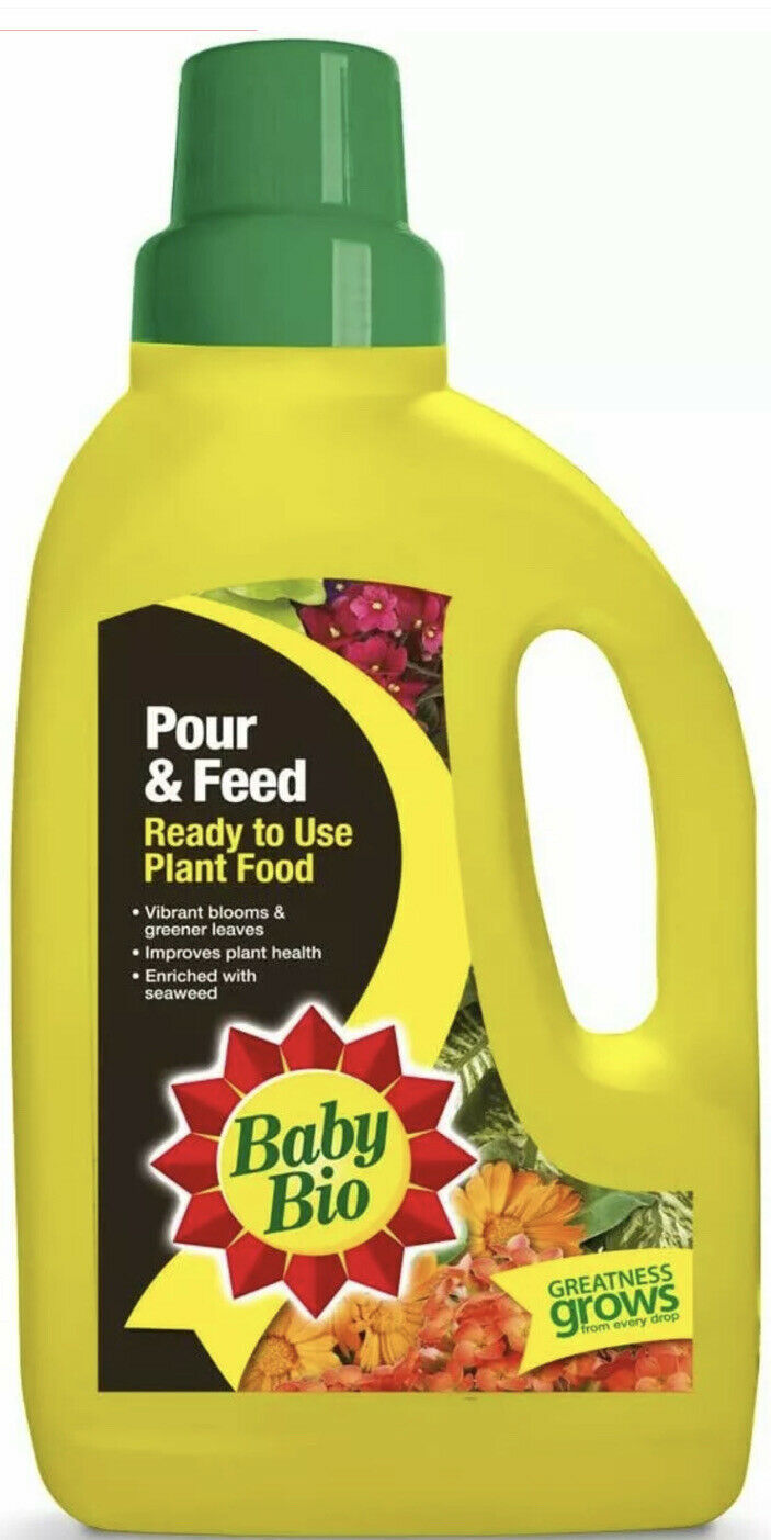 SBM Life Science Ltd Baby Bio Pour and Feed Houseplant Food