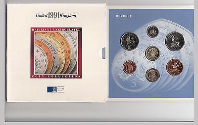 1991 Royal Mint UNC coin set (UK)