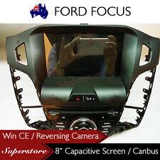"8"" Car DVD GPS Navigation Head Unit For Ford Focus 2012-2014 LW LWII"