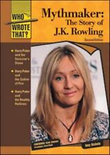 Mythmaker: The Story of J.K. Rowling (Who Wrote That?)-ExLibrary
